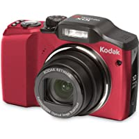 Kodak Easyshare Z915 Digital Camera (Red) At A Glance Review Image