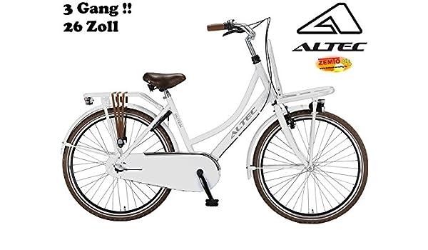 Bicicleta holandesa para mujer Altec Dutch 26 pulgadas 3 marchas ...
