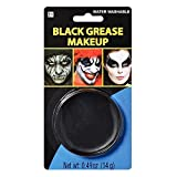 Party Ready Black Face Paint Style Grease Makeup Kit, 0.49 Ounce