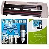 24 inch uscutter sc series vinyl cutter plotter with vinylmaster cut design cut