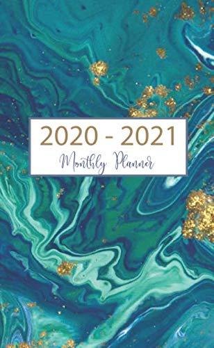 - Monthly Planner 2020-2021: 24-Month Pocket Planner & Calendar. Size: 4.0