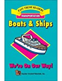 Boats and Ships, Frieda Wishinsky, 1576902765