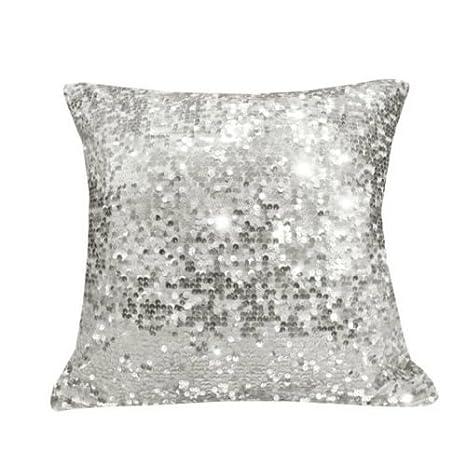 Amazon.com: Lentejuelas Sparkly Glitter cojines 45 X 45 cm ...