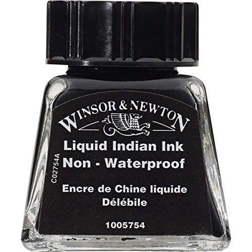 Tinta para Desenho Winsor & Newton Liquid Indian Ink 14ml