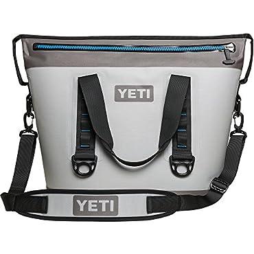 YETI Hopper Two 30 Cooler (Fog Gray / Tahoe Blue)