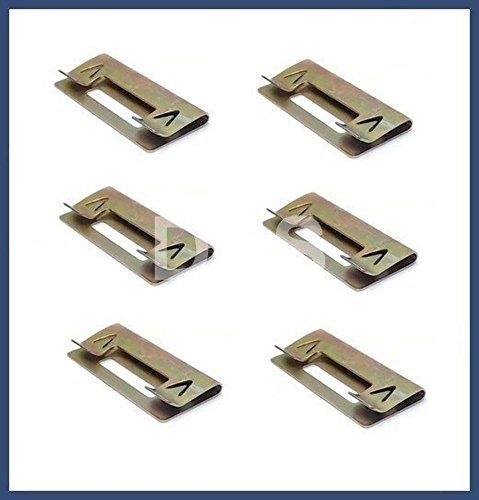 (BMW e36 interior Door Panel Metal Repair Clip (x6) clips)