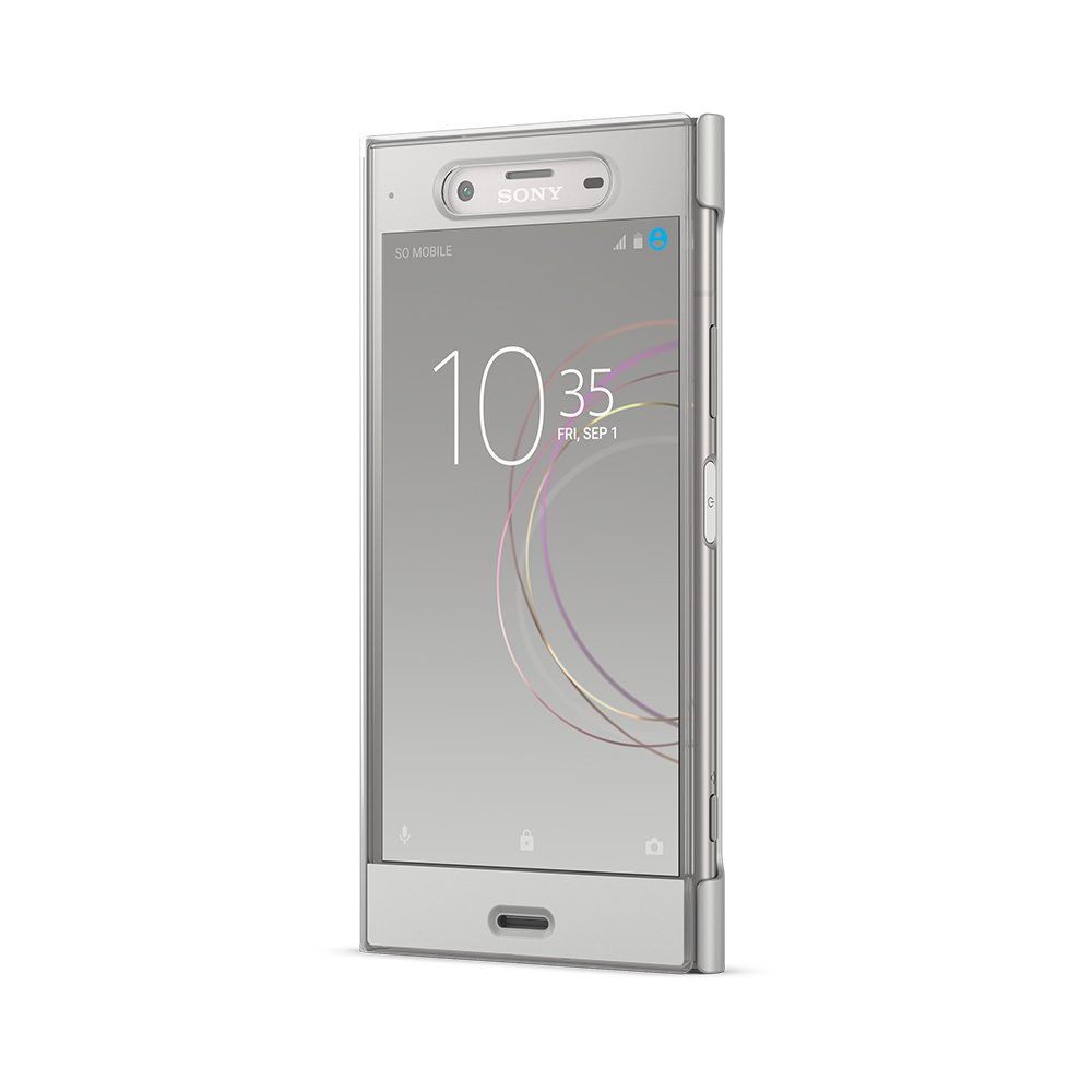 Sony Style Cover Touch Case for Xperia XZ1 - Silver