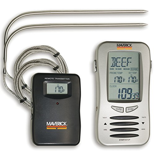 - Maverick ET-7 Remote-Check Wireless Thermometer With 2 Probes