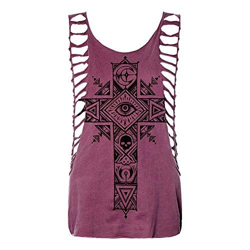 Sullen Clothing - Camiseta sin mangas - para mujer