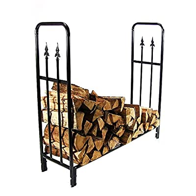 Sunnydaze Decorative Firewood Log Rack, Sunnydaze Decorative Firewood Log Rack