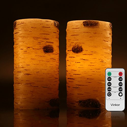 Vinkor Flameless Candles Flickering Battery product image