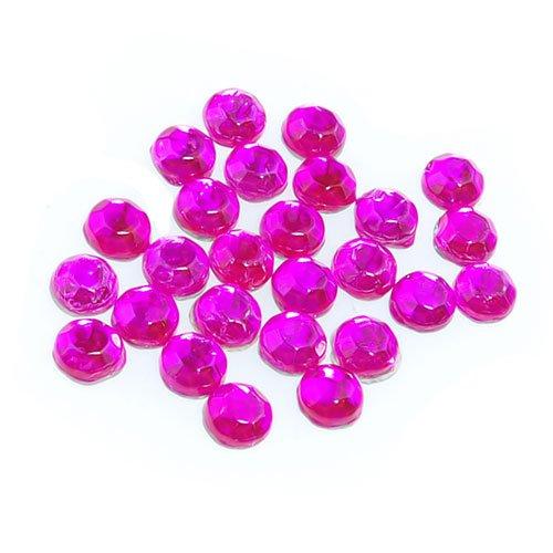 Lote de 2880 piedras de estr/ás con parte posterior plana fijaci/ón por aplicaci/ón de calor, de 3,8 a 4 mm color rosa