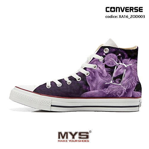 Converse personalizzate ZODIAC ALL STAR HIGH CUSTOMIZED Gemini