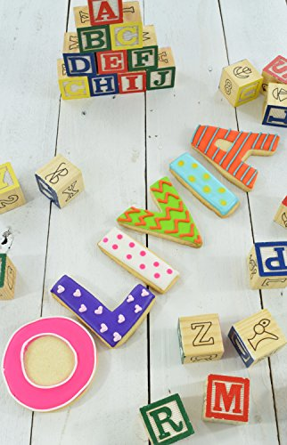 R&M International 1954 Alphabet 3'' Cookie Cutters, 26-Piece Set in Gift Box by R & M International (Image #2)