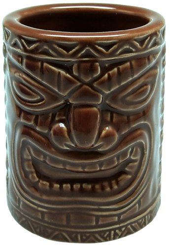 Hawaiian Tiki Shot Glass - Hawaiian Tiki Shot Glass Lucky