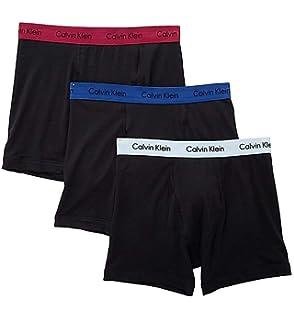 44574aba0 Calvin Klein Men s Cotton Classics Multipack Boxer Briefs at Amazon ...
