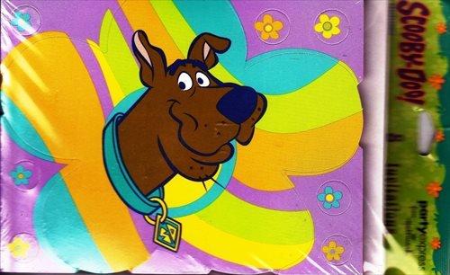 Scooby-Doo! 'Groovy' Invitations w/ Envelopes (Scooby Doo Birthday Invitation)
