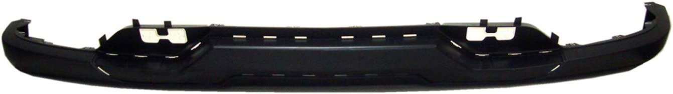 Partslink GM1015136C Gm 2019-2019 Chevrolet Silverado 1500 Legacy Front Lower Bumper Cover; For Use With Chrome Insert; With Tow Hook Holes; Textured Black Finish; Made Of Pp Plastic;