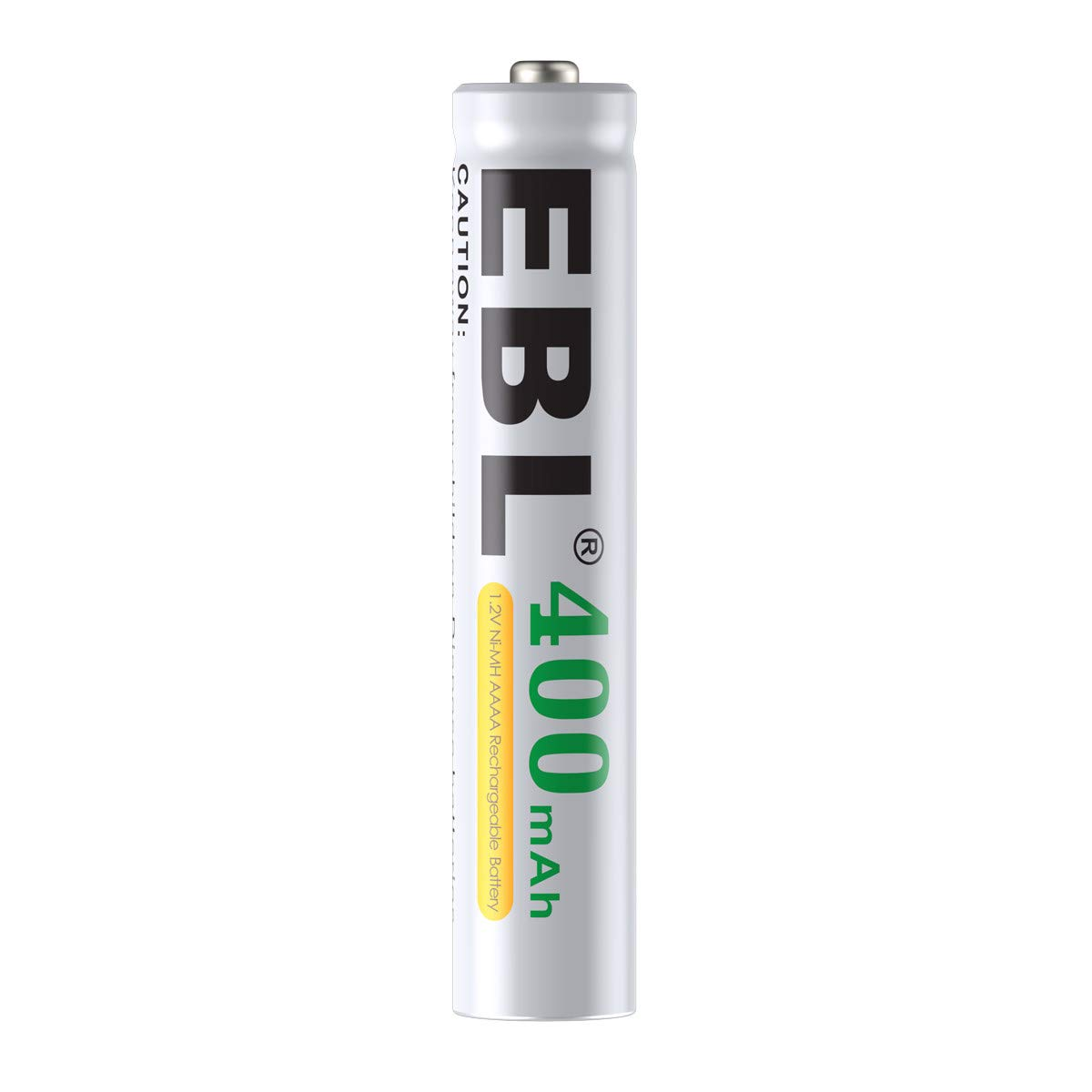 EBL AAAA Batteries, AAAA Rechargeable Battery 1.2V Ni-MH 400mAh for Surface Pen, 12-Pack