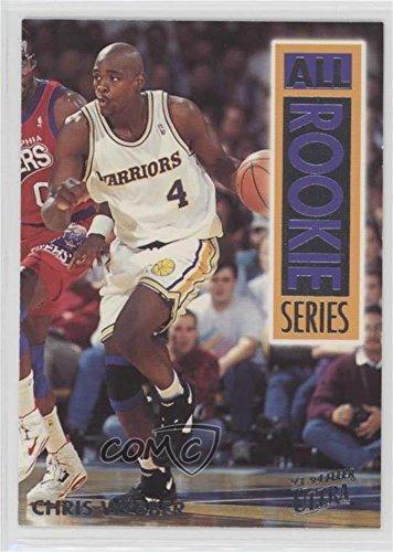 Chris Webber (Basketball Card) 1993-94 Fleer Ultra - All Rookie Series #15 -