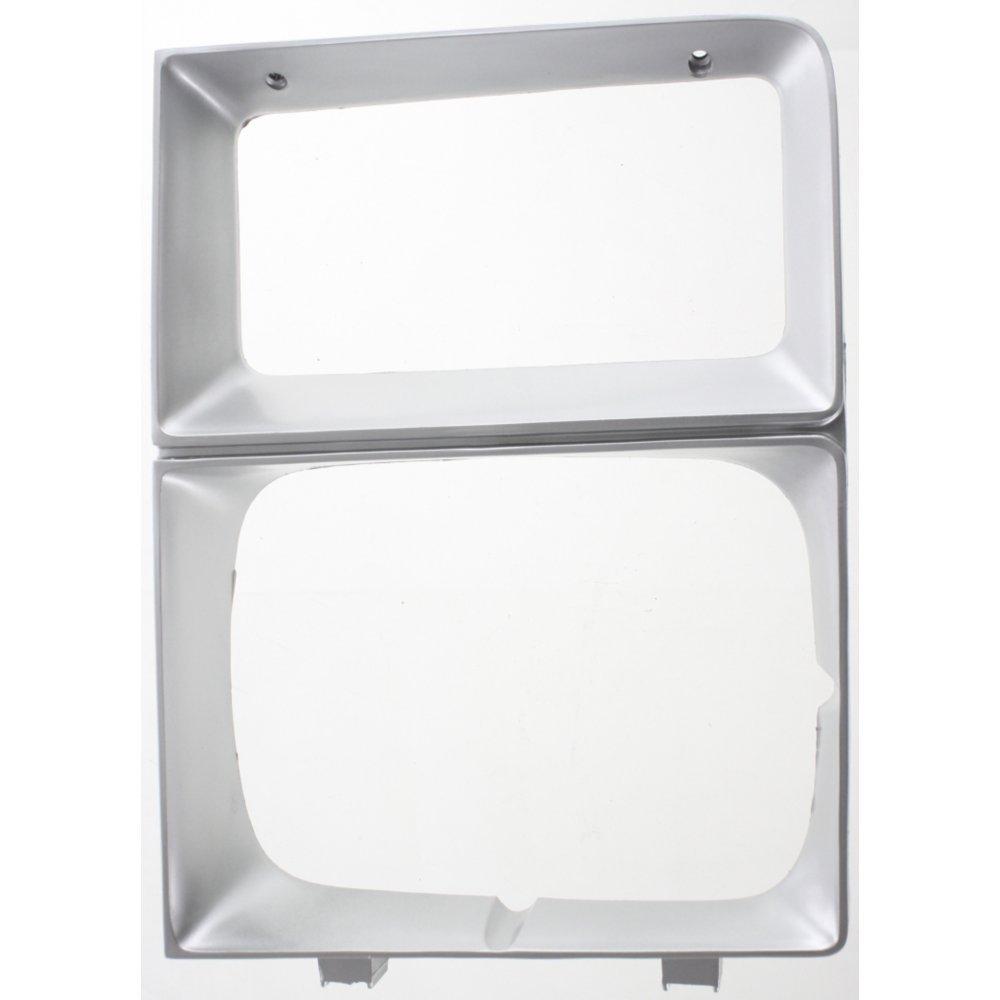 Evan-Fischer EVA18972010761 Headlight Door for Chevrolet C/K Full Size Pickup/Suburban 83-84 RH W/Single Headlamps