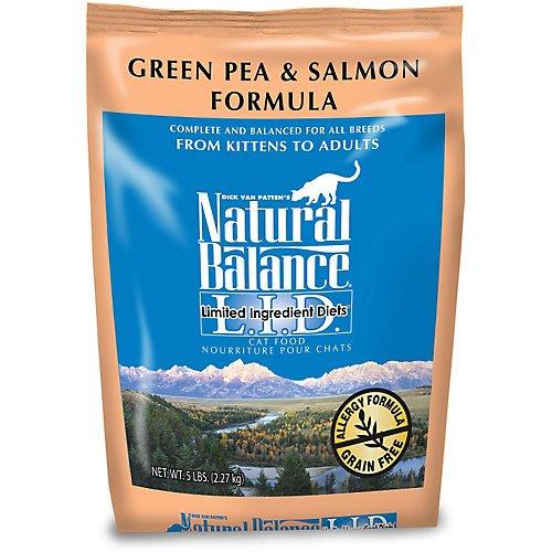 Natural Balance LID Salmon Dry Cat Food 5lb