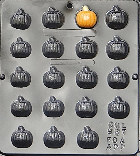 Candy Molds N More Halloween Pumpkin Bite Size Chocolate Candy Mold 927