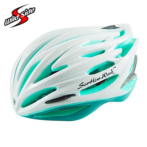 Buy Generic Green Cycling Helmet Ultralight 235g Led Light Helmets