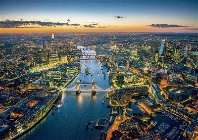 London Aerial View - Educa 1500 Piece Puzzle by Educa