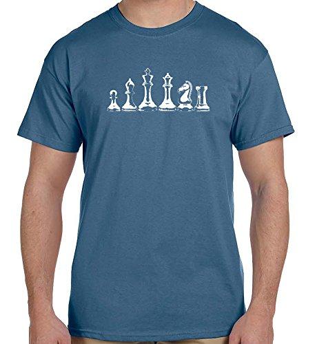 Chess Pieces men's t-shirt