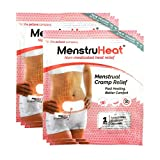 MenstruHeat Heating Pad for Menstrual Cramp Relief and PMS Comfort from Period Pain - Pack of 6 (patches/wraps/pads)