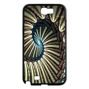 [Spiral Series] Samsung Galaxy Note 2 Cases Endless Spiral, Samsung Galaxy Note2 Case Sexyass - Black