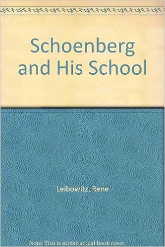 Parhaat ilmaiset ladattavat kirjat Schoenberg and His School: The Contemporary Stage of the Language of Music (Da Capo Press music reprint series) 030671681X PDF FB2