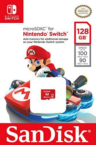 SanDisk 128GB microSDXC UHS-I-Memory-Card for Nintendo-Switch - SDSQXAO-128G-GNCZN 6