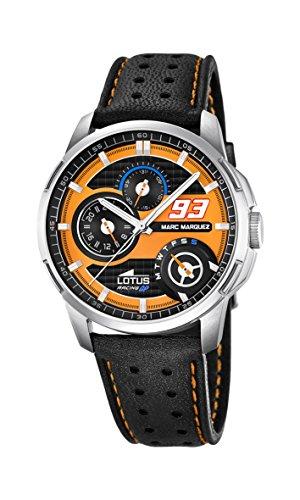 Lotus 18241-3 Mens Marc Marquez Black Leather Strap Watch