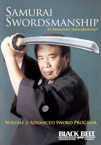 DVD : Samurai Swordsmanship 3: Advanced Sword Program (Colorized)