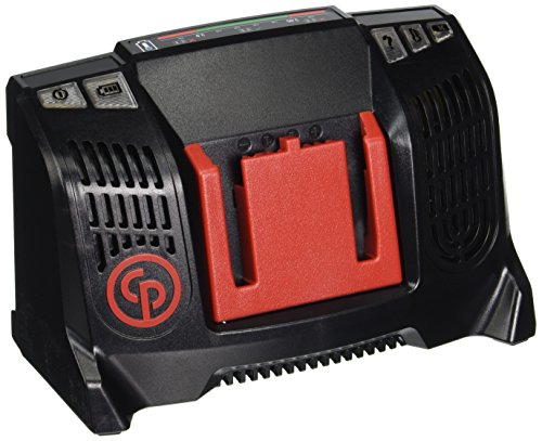 Chicago Pneumatic CP20CHU 20V Batter Charger for CP Cordless, Red/Black - Chicago Pneumatic 20v