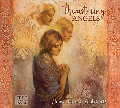 (Annie Henrie Nader 2019 Wall Calendar- Ministering Angels- 13.375