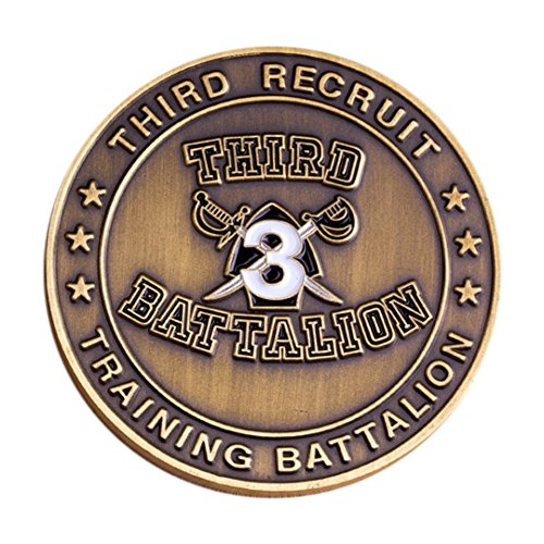 3rd Recruit Training Coin (Battalion Challenge Coin)