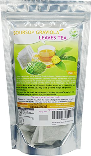NalLife Organic Soursop Graviola Leaves product image
