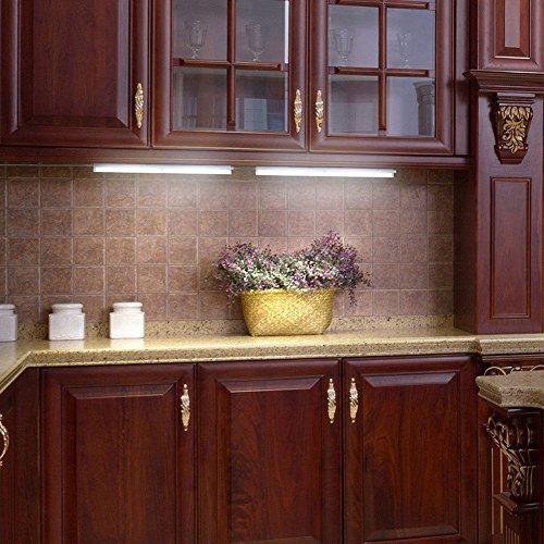 Battery Operated Under Cabinet Lighting Kitchen: Closet Sensor Light,Hamaxa 20-LED Wireless Motion Sensor