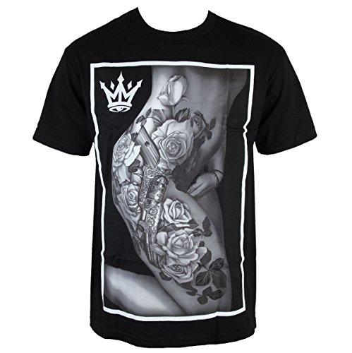 Herren T-Shirt MAFIOSO - Body Art - Black - 53001-2 XXL