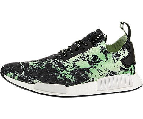 60381e213 adidas NMD R1 Primeknit Men s Shoes Core Black Cloud White Aero Green  bb7996 (10.5