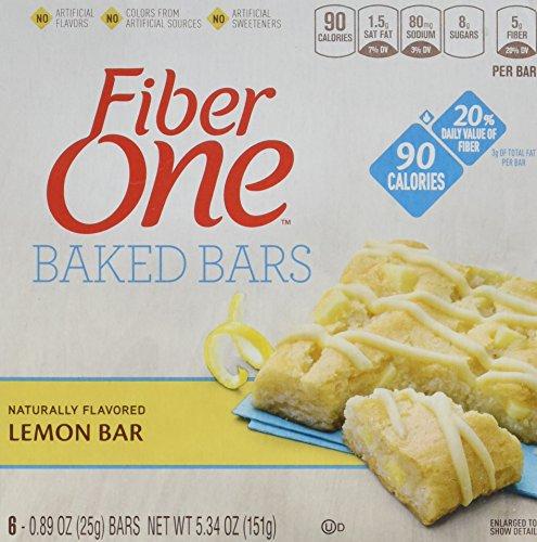fiber one lemon bars - 4