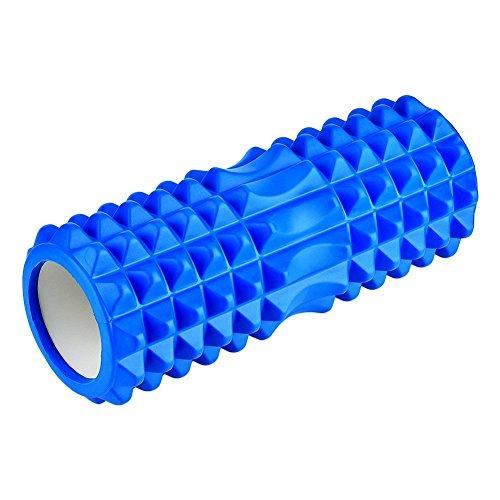EDTara Fitness Equipment Bodybuilding Yoga Hollow Mace Massage Stick Fitness Gym Exercises EVA Foam Roller for Physio Massage Pilates Tight Muscles – DiZiSports Store