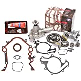 Evergreen TKTCS20500WOP 96-04 Ford Thunderbird Mustang Mercury Cougar 3.8 3.9 OHV 12 Valves Timing Chain Kit Water Pump Oil Pump Timing Cover Gasket