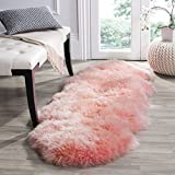 Color small carpet,Bedroom room decorated floor seat,Thick seat cushioning Bed sheet Chair pads and cushions-pink 60x95cm(24x37inch)