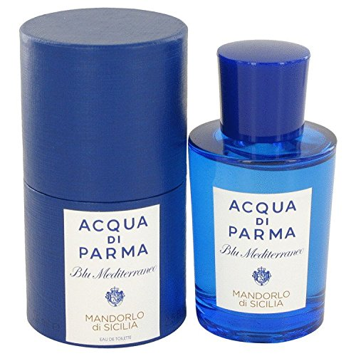 Acqua Di Parma Blu Mediterraneo Mandorlo Di Sicilia By Acqua Di Parma For Women Eau De Toilette Spray 2.5 Oz