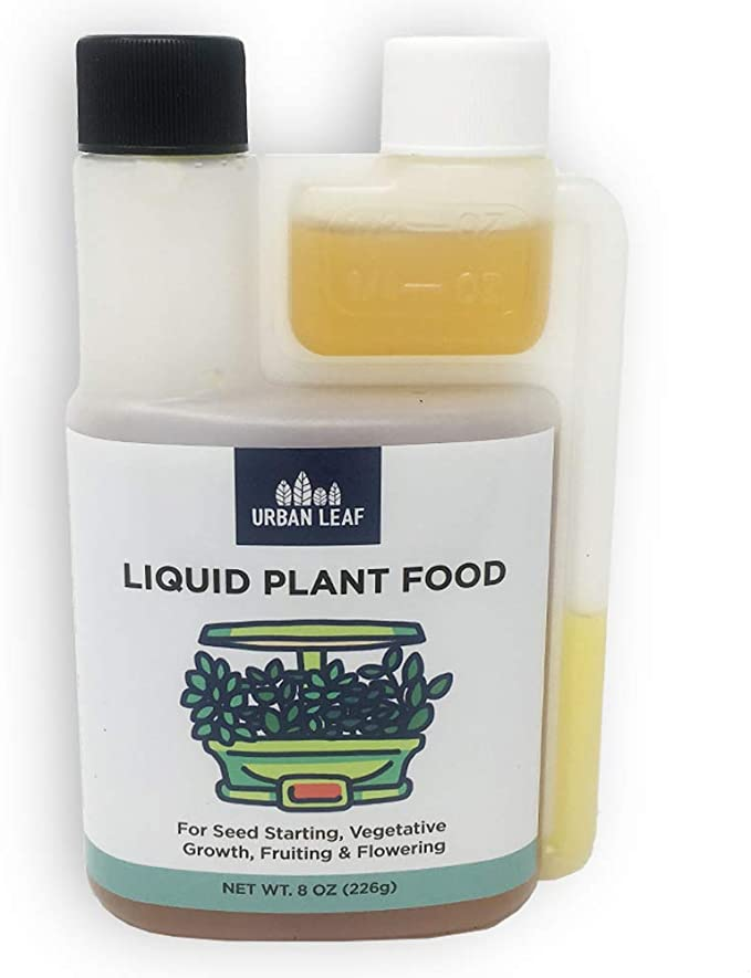 Urban Leaf Liquid Plant Food-Hydroponic Nutrients Concentrate-Best For Bottle Design