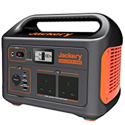Jackery Portable Power Station Explorer 1000, 1002Wh Solar Generator (Solar Panel Optional) with 230V/1000W AC Outlet… Health and Household